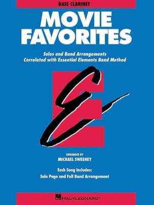 Movie Favorites - Bb Bass Clarinet Partition laflutedepan