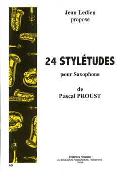 Pascal Proust - 24 Stylétudes - Sheet Music - di-arezzo.co.uk