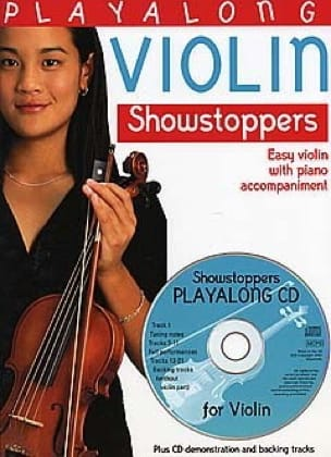 Playalong Violin Showstoppers Partition Violon - laflutedepan