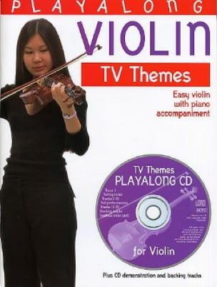 Playalong violin TV themes Partition Violon - laflutedepan