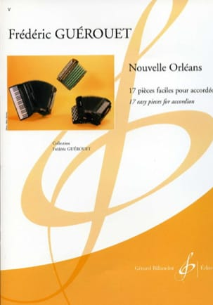 Nouvelle Orléans Frédéric Guérouet Partition Accordéon - laflutedepan