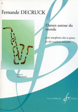 Danses autour du monde Fernande Decruck Partition laflutedepan