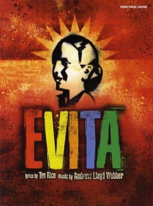 Evita Andrew Lloyd Webber Partition Comédie musicale - laflutedepan