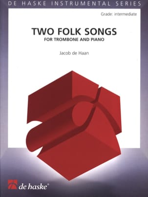 Jacob de Haan - Two Folk Songs - Partition - di-arezzo.fr