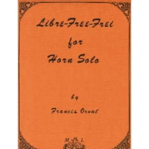 Francis Orval - Free Free-Frei - Sheet Music - di-arezzo.com
