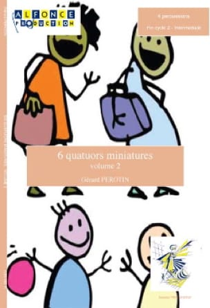 Gérard Perotin - 6 Quatuors Miniatures Volume 2 - Partition - di-arezzo.fr