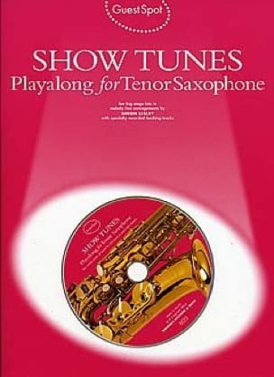 - Lugar invitado - Show Tunes Playalong para saxofón tenor - Partitura - di-arezzo.es