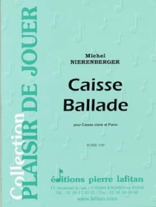 Michel Nierenberger - Caisse Ballade - Partition - di-arezzo.fr