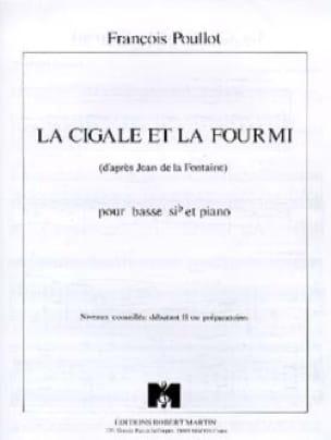 François Poullot - La Cigale Et la Fourmi - Partition - di-arezzo.fr