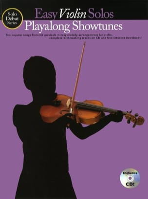 Easy Violin Solos Playalong Showtunes - laflutedepan.com