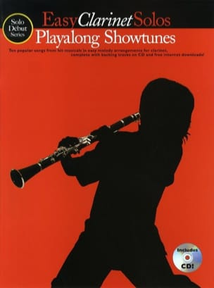 Easy Clarinet Solos Playalong Showtunes - Partition - di-arezzo.fr