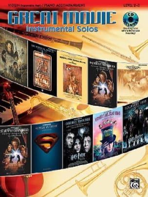 Great movie instrumental solos Partition Violon - laflutedepan