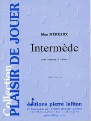 Intermède Max Méreaux Partition Trombone - laflutedepan