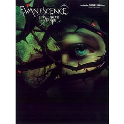 Anywhere But Home - Evanescence - Partition - laflutedepan.com