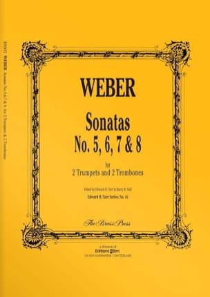Weber - Sonatas N° 5, 6, 7 & 8 - Partition - di-arezzo.fr