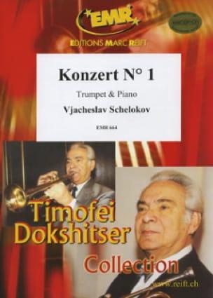 Konzert N° 1 Vjacheslav Schelokov Partition Trompette - laflutedepan