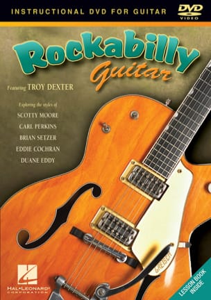 DVD - Rockabilly Guitar Troy Dexter Partition Guitare - laflutedepan