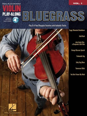 Violin play-along volume 1 - Bluegrass Partition laflutedepan