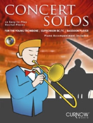 - Concert Solos For The Young Trombone Player - Partition - di-arezzo.fr