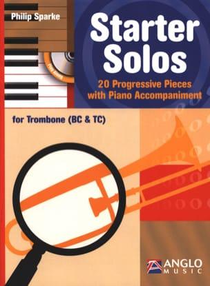 Starter Solos Philip Sparke Partition Trombone - laflutedepan