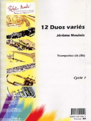 Jérôme Naulais - 12 Various Duets For Trumpets - Sheet Music - di-arezzo.co.uk