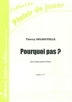 Thierry Deleruyelle - Why not ? - Sheet Music - di-arezzo.co.uk
