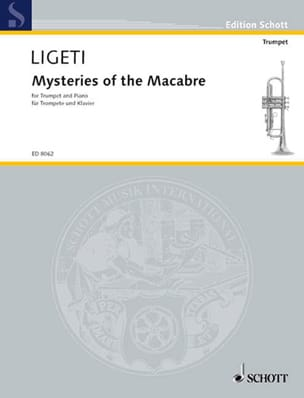 Mysteries Of The Macabre - LIGETI - Partition - laflutedepan.com