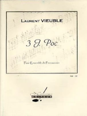 3 J. Poc - Laurent Vieuble - Partition - laflutedepan.com