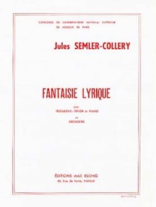 Jules Semler-Collery - Fantaisie Lyrique - Partition - di-arezzo.fr