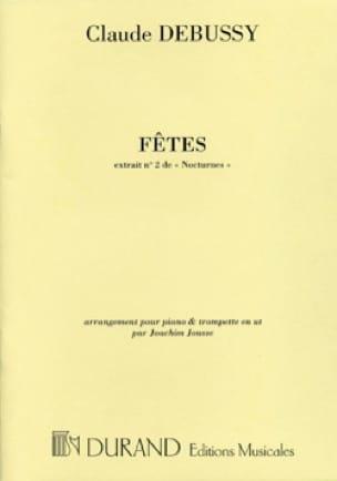 Claude Debussy - Fêtes (Extrait N° 2 de Nocturnes) - Partition - di-arezzo.fr