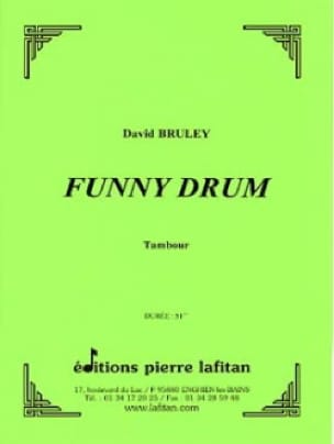 David Bruley - Funny Drum - Sheet Music - di-arezzo.com