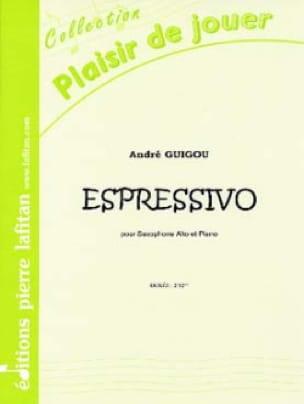 Espressivo - André Guigou - Partition - Saxophone - laflutedepan.com