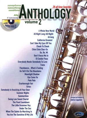 Anthology Volume 2 - Partition - Saxophone - laflutedepan.com