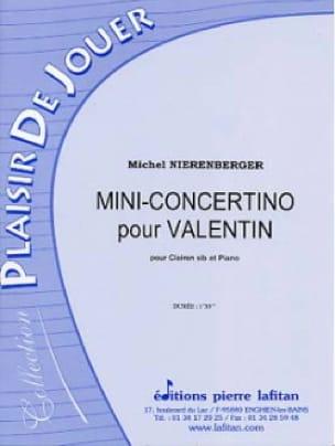 Mini-Concertino Pour Valentin - Michel Nierenberger - laflutedepan.com