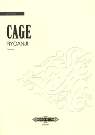 Ryoanji CAGE Partition Multi Percussions - laflutedepan