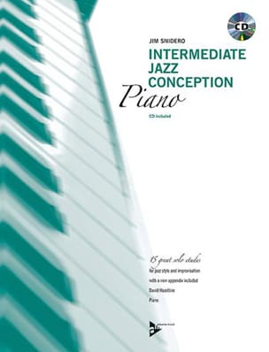 Jim Snidero - Intermediate Jazz Design - 15 Great Solo Etudes - Sheet Music - di-arezzo.co.uk