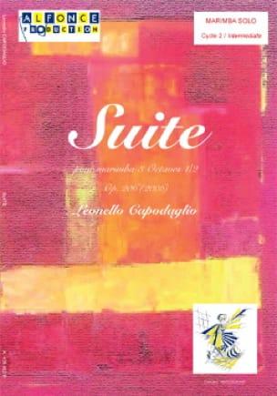 Leonello Capodaglio - Suite Opus 206 2006 - Partition - di-arezzo.fr