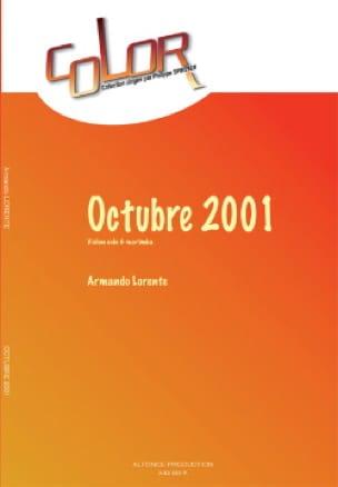 Armando Lorente - Octubre 2001 - Partition - di-arezzo.fr