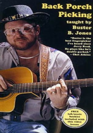 Buster B. Jones - DVD - Back Porch Picking - Sheet Music - di-arezzo.com