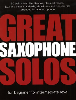 - Great Solo Saxophone - Sheet Music - di-arezzo.com