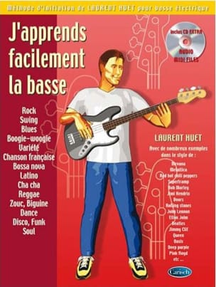 J'apprends facilement la basse Laurent Huet Partition laflutedepan