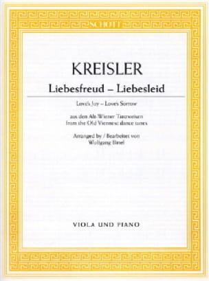 Fritz Kreisler - Liebesfreud - Partition - di-arezzo.fr