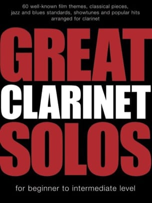 - Great Clarinet Solos - Sheet Music - di-arezzo.com