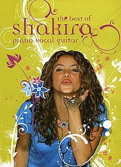 Shakira - The Best Of Shakira - Sheet Music - di-arezzo.co.uk