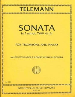 TELEMANN - Sonata In Fa Minor, TWV 41: f1 - Sheet Music - di-arezzo.com