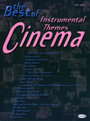 - The Best Of Instrumental Cinema Themes - Sheet Music - di-arezzo.co.uk