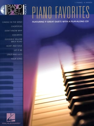- Piano Duet Play-Along Volume 1 - Favorites - Sheet Music - di-arezzo.co.uk