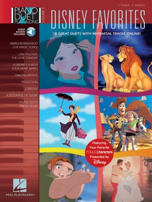 DISNEY - Duet Play-Along Piano Volume 5 - Favoritos de Disney - Partitura - di-arezzo.es
