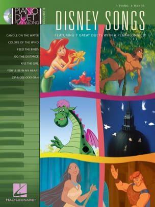 DISNEY - Duet Piano Play-Along Volumen 6 - Canciones de Disney - Partitura - di-arezzo.es