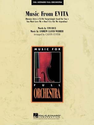 Andrew Lloyd Webber - Evita Music From - Sheet Music - di-arezzo.co.uk